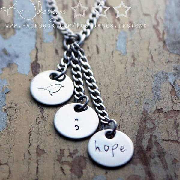 Hope Pendant PND Awareness